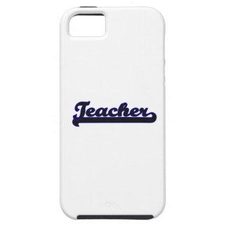 Sistema de trabajo clásico del profesor iPhone 5 carcasa