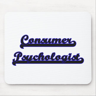 Sistema de trabajo clásico del psicólogo del mousepad