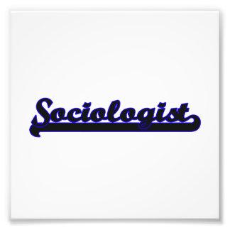 Sistema de trabajo clásico del sociólogo cojinete