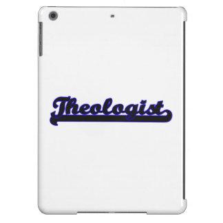 Sistema de trabajo clásico del teólogo funda para iPad air