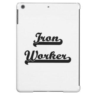Sistema de trabajo clásico del trabajador del funda para iPad air