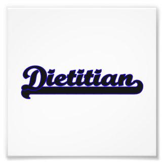 Sistema de trabajo clásico el dietético cojinete