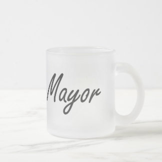 Sistema de trabajo de alcalde Artistic Taza Cristal Mate