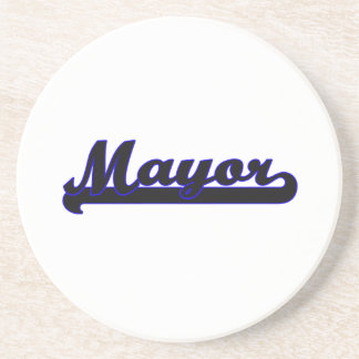 Sistema de trabajo de alcalde Classic Posavasos Para Bebidas