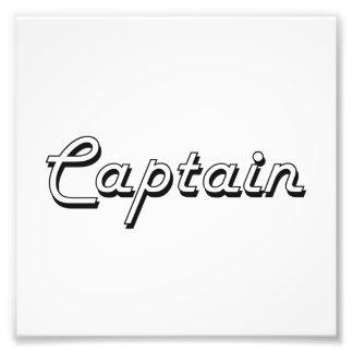 Sistema de trabajo de capitán Classic Fotografías