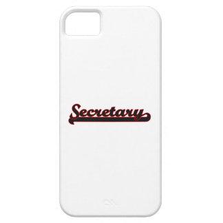 Sistema de trabajo de secretaria Classic Funda Para iPhone 5 Barely There