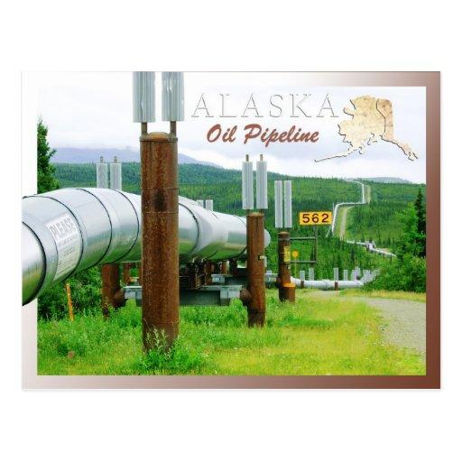 Sistema de tubería de Transporte-Alaska, Alaska Tarjetas Postales