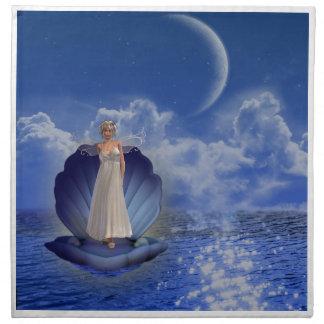 Sistema del ángel del agua de cuatro servilletas