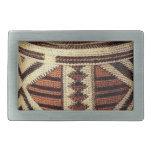 sistema del arte del vintage del arte hebilla cinturon rectangular