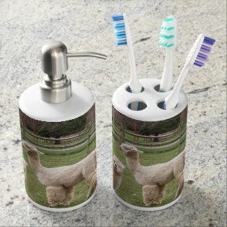 Sistema del baño del ~ de la mezcla de la alpaca jabonera