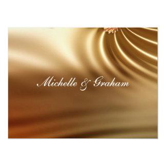 """Sistema del boda del caramelo invitación 6.5"""" x 8.75"""""""