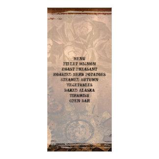 Sistema del boda del gótico de los rosas de Steamp Lona