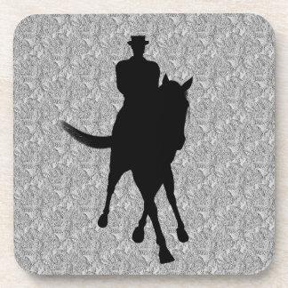 Sistema del caballo del Dressage y del práctico de Posavasos