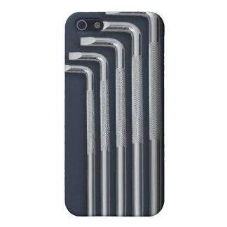Sistema del destornillador diseño para el caso ip iPhone 5 cárcasas