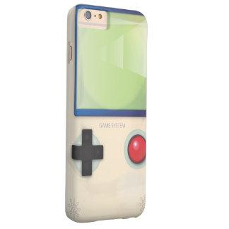 Sistema del juego del vintage funda de iPhone 6 plus barely there