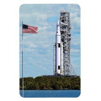 Sistema del lanzamiento del espacio de la NASA Iman De Vinilo