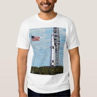 Sistema del lanzamiento del espacio de la NASA Poleras