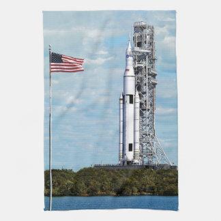 Sistema del lanzamiento del espacio de la NASA Toalla De Mano