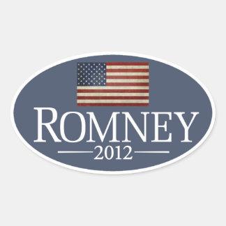 Sistema del pegatina de Mitt Romney