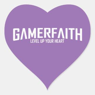 Sistema del pegatina del corazón de Gamerfaith