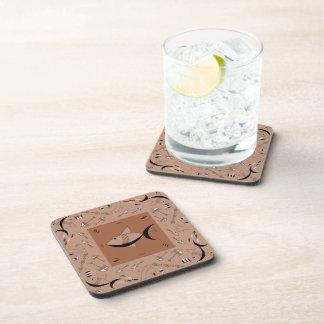 Sistema del práctico de costa de 6: CUENTO DE LOS Posavasos De Bebida