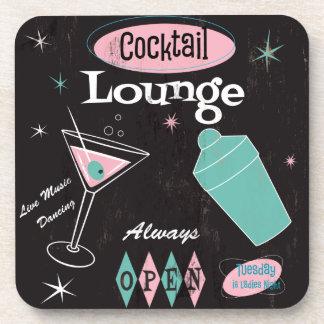 Sistema del práctico de costa del salón de cóctel posavasos de bebidas
