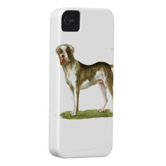 sistema del regalo del arte del perro iPhone 4 Case-Mate carcasa