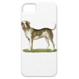 sistema del regalo del arte del perro iPhone 5 Case-Mate cobertura