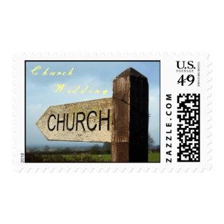 Sistema del sello del boda de la iglesia