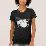Sistema del tambor camisetas