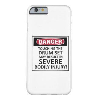 Sistema del tambor del peligro funda de iPhone 6 barely there