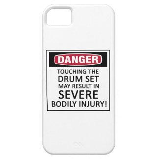 Sistema del tambor del peligro funda para iPhone 5 barely there