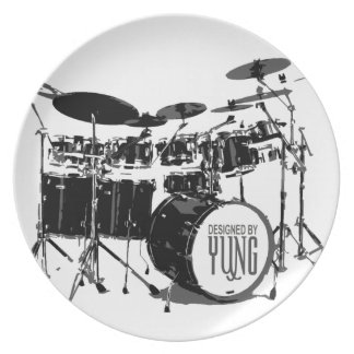 Sistema del tambor platos