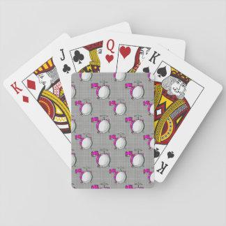Sistema del tambor; Tambores rosados Cartas De Póquer