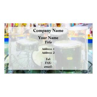 Sistema del tambor tarjetas de visita