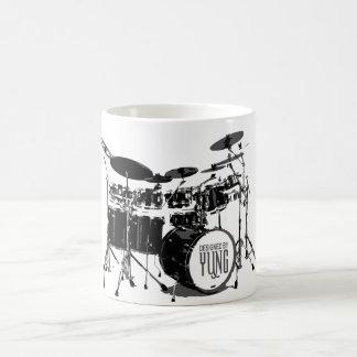 Sistema del tambor taza de café
