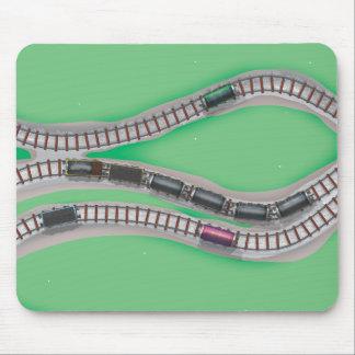 Sistema del tren mousepads