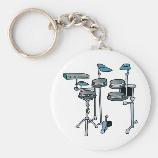 sistema electrónico del tambor llaveros personalizados