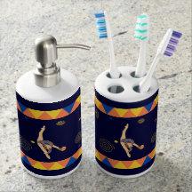 Sistema gimnástico rítmico del tenedor del jabón y conjuntos de baño