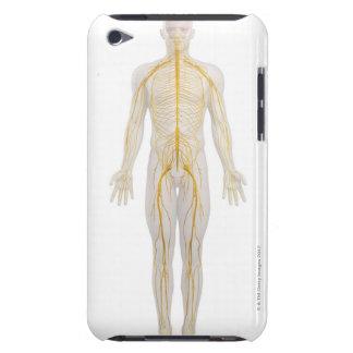 Sistema nervioso humano 2 carcasa para iPod