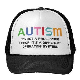 Sistema operativo del autismo gorra
