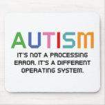 Sistema operativo del autismo tapete de ratones