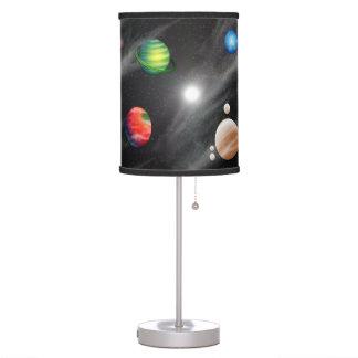 Sistema planetario lámpara de mesilla de noche