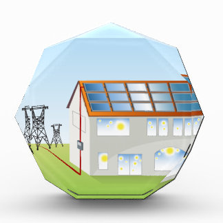 Sistema residencial del panel solar
