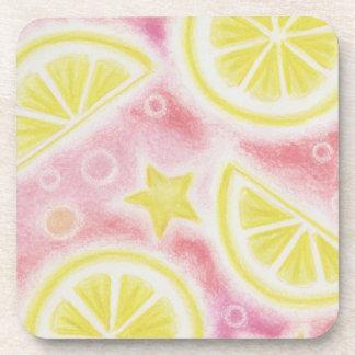 """Sistema rosado del práctico de costa de los """"limon posavasos de bebidas"""