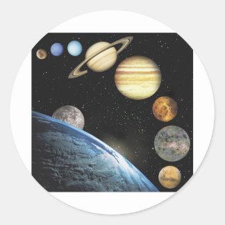 sistema solar adesivos
