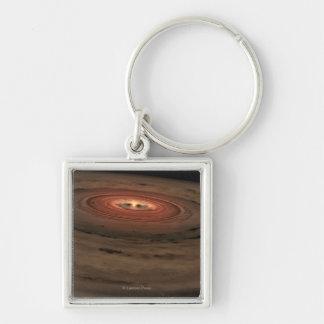 Sistema Solar del concepto del artista mini en la  Llaveros