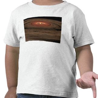 Sistema Solar del concepto del artista mini en la  Camisetas