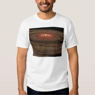 Sistema Solar del concepto del artista mini en la Remera