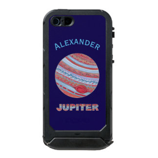 Sistema Solar del friki colorido del espacio de Funda Para iPhone 5 Incipio ATLAS ID